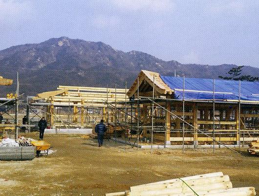 Hanok Complex In Seokmodo Island